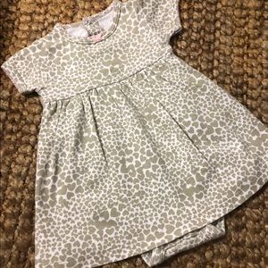 NWOT Carter's Skirted Onesie Pant Set Sz 6 Month